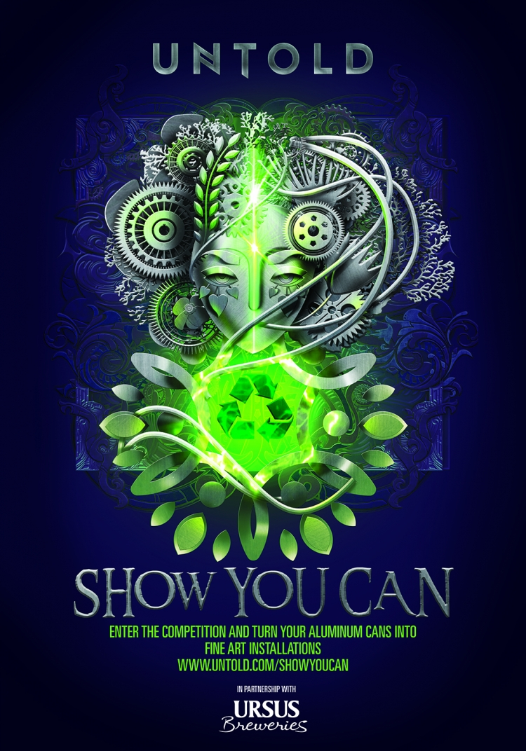 "UNTOLD si Ursus Breweries lanseaza astazi competitia internationala ""SHOW YOU CAN"""